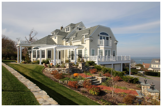 Residential Gallery Shingle Style Home By The Sea